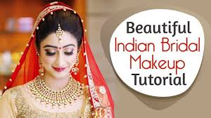beautiful indian bridal makeup tutorial glittery eye makeup for indian brides krushhh by konica all makeup videos