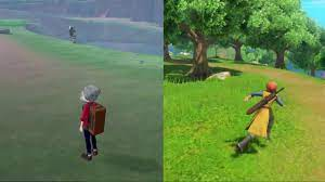 Pokemon Fans Are Comparing Graphics And Animations Between Sword/Shield And  Dragon Quest XI S