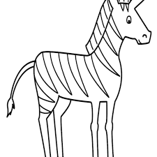 Small Picture detail coloring pages of zebra cute ba zebra coloring page free