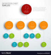 Modern Org Chart Modern And Simple Organization Chart Template