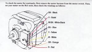 direct drive washer motor help appliance aid a check for continuity on the start windings between black and yellow wires a resistance of 4 7 ohms is normal