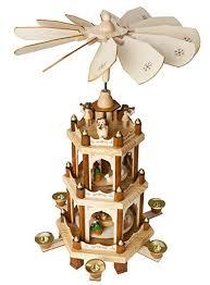 Amazon Com Brubaker Christmas Decoration Pyramid 18 Inches