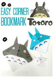 totoro corner bookmark my neighbour totoro calling all totoro fans if you