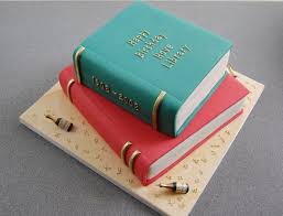 Pin By The Bookwyrms Hoard On Book Confections Book Cakes