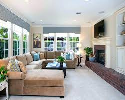 family room furniture sets using leather sectional sofa bed for small space with electric fireplace design family room
