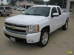 2008 Chevrolet Silverado 1500 LT Extended Cab in Summit White ...