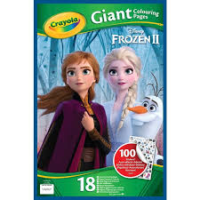 △ browse through all the available coloring pages to find your favorites to print out and color in! Crayola Disney Frozen 2 Giant Colouring Pages With Stickers Smyths Toys Uk