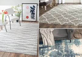through 6 10 hurry over to wayfair for great deals on blue gray area rugs they re on up to 70 off with s starting at only 14 99