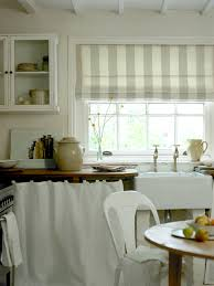 Roman Blinds In Kitchen I Love This Country Kitchen Roman Blind In Broad Stripe Also