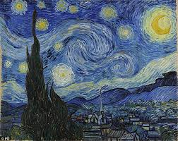 us artist michael benson says the whirlpool galaxy inspired van gogh the dutch painter created