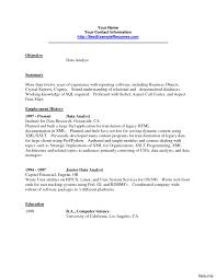 Cover Letter Data Warehouse Analyst Job Description For Image