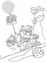 Coloring The Topfrom The Gallery La Haut Coloring Pages Disney