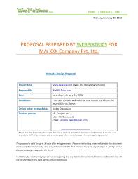 60 Recent Sample Software Development Proposal Document | The Proposal