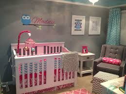Baby Nursery Decor, Owl Personalised Color Schemes For Baby Girl Nursery  Paintings Manufacture Made Print