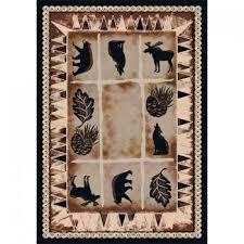 wildlife area rugs