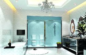 crystal bathroom lighting modern bathroom lighting in white themed bathroom with crystal chandelier on the top