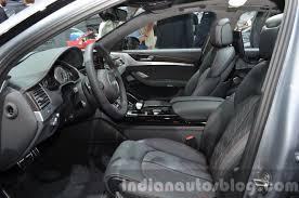 2016 Audi S8 Plus interior at 2015 Frankfurt Motor Show - Indian ...