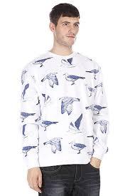 Купить <b>толстовку</b> классическая <b>Obey Seagull Crew</b> White/Navy в ...