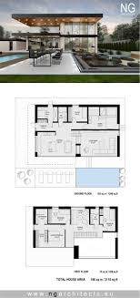 modern house plan Villa F designed by NG architects www ...