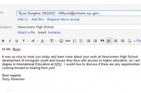 sending your resumes via email be sure to include your first and last - Sending  Resume