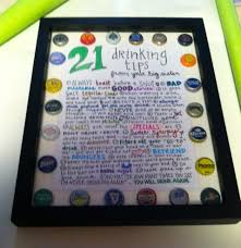 Gift For The Kitchen 21 Drinking Tips Gift For My Sisters 21st Birthday