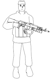 Soldier Coloring Pages Wecoloringpagecom