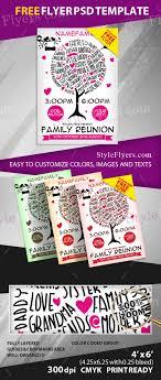 Family Reunion Flyer Templates Free Family Reunion Free Psd Flyer Template Free Download 12061