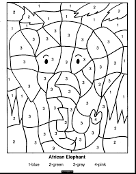Math Coloring Worksheets For Christmas 2 Pages Thanhhoacarcom