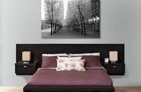 bedroom wall mounted bed headboard  wall mount headboard  bed