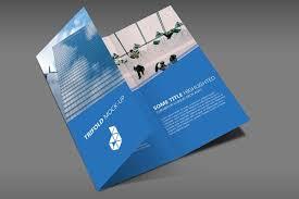 Tri Fold Brochure Online Design 25 Best Trifold Brochure Psd Mockups Colorlib
