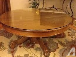 42 antique oak claw foot round coffee table for in decatur illinois