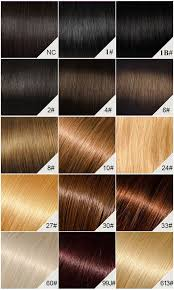 Wig Color Chart Hair Color Chart Hair Extension Chart And Hair Weave Color