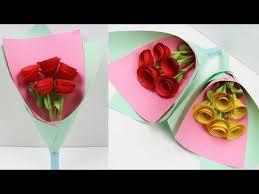 Paper Flower Bouquet Tutorial Videos Matching How To Make Paper Flower Bouquet Tutorial