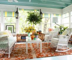 Awesome Sunroom Design With Flower