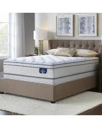 bed frame and mattress set. Serta Westview Eurotop Queen-size Mattress Set (Low Profile), White Bed Frame And M