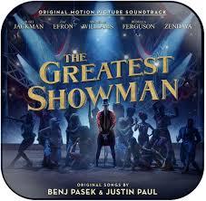 Soundtrack The Greatest Showman Album Cover Sticker