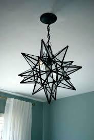 moravian star light wonderful star pendant