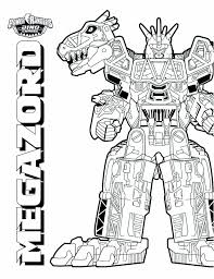 Power Rangers Dino Thunder Coloring Pages Charge Mapiraj 1275719
