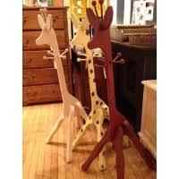 Giraffe Coat Rack Pennsylvania Dutch Design 17