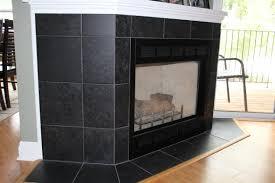 full image for cozy black slate tile fireplace 37 black slate tile fireplace surround black tile