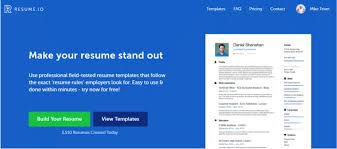 Resume Builders 2018 Extraordinary Resumeio Review 48 A Top Resume Builder From All Reviews