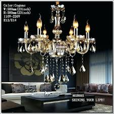 small chandelier lamp small crystal chandelier lamp fixture diffe color options candle glass chandelier lighting er
