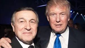 Image result for Pictures of trump and Aras Agalarov