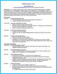 Teaching Assistant Resume Resumes Teacher Summary Skills Examples