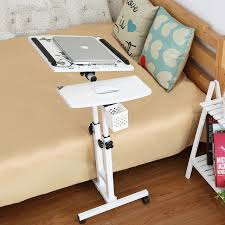foldable computer table adjule portable laptop desk rotate laptop bed table can be lifted standing desk