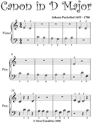 Easy notes sheet music in d mayor for pachelbel's canon. Canon In D Pachelbel Beginner Piano Sheet Music Kindle Edition By Pachelbel Johann Silvertonalities Arts Photography Kindle Ebooks Amazon Com