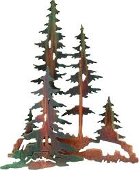 pine trees forest 3d metal wall art on pine tree forest metal wall art with pine trees forest 3d metal wall art laser cut metal tree forest