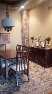 Brick Floor In Kitchen Vintage Brick Veneer Blog Brick Veneer Installation Tips News
