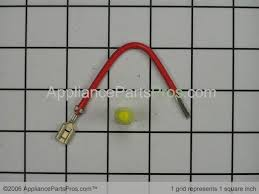 whirlpool heating element connecting wire 279457 from appliancepartspros com