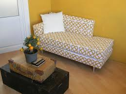 Turn An Ikea Twin Bed Into A Mid Century Modern Daybed Diymashup ...